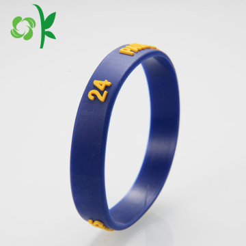 Personalized Cool Fashion Unique Blue Silicone Gelang