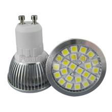 Super brillante GU10 Base 24PCS 5050 SMD LED (380lm, 4.5W, Metal Shell)