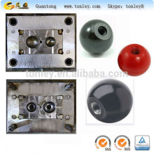 plastic hand shank injection overmold for electrical appliance and tooling