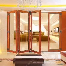 puerta plegable de aluminio plegable