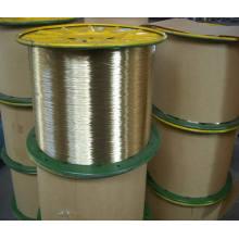 Fil de renforcement en acier revêtu en laiton pour le tuyau