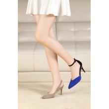 Foldable Heel New Kidsuede Ladies Shoes