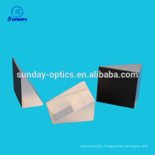 Reflective coating optical glass prism