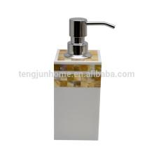 Перламутровая раковина мозаика ванная комната для гостиниц раковина керамическая ручная мыло-дозатор