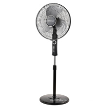 16 Inch Round Base Floor Fan with Metal Blades