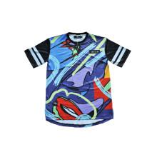 Многоцветные подгонянные униформы Джерси футболка для спортивной одежды (T5027)
