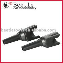 Bottle clip-on funnel