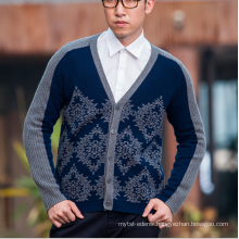 17PKCS103 2017 100% cashmere knit winter thick sweater for man