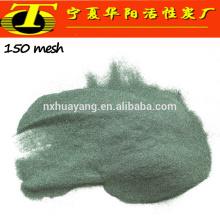 Fabricação de carboneto de silício de carborundum verde grão abrasivo
