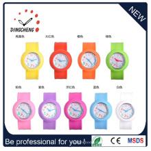 Mode-Förderung angepasst Silikon Armband Slap Watch (DC-095)