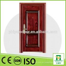 Hermoso diseño de puertas caras utilidad buena acero impermeable puerta de madera