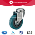 65mm Bolt Hole Swivel Grey Rubber Caster