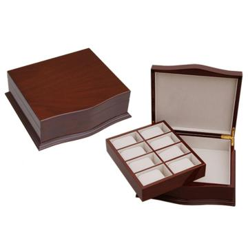 Single-deck Wood Watch Box