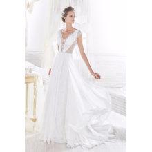 Chiffon Lace Beach Wedding Dress