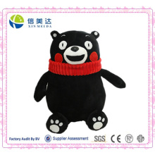 Logy Black Bear Kumamon Plush Toy