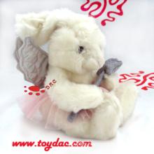 Плюшевые Ангел Белая игрушка кролика