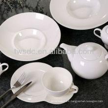 Hotel Restaurant ceramic restaurant dishware, buffet plate stand