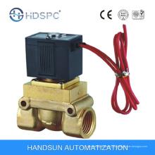 Válvula de solenoide de cobre amarillo Material de buena calidad