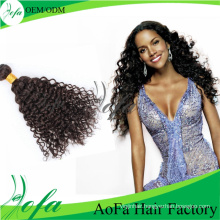 Wholesale Unprocessed Brazilian Curly Virgin Hair Human Hair Extension