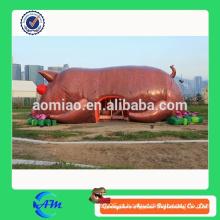 Porco inflável gigante / porco inflável gigante para venda