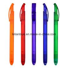 Schlanke Kunststoff Kugelschreiber für Unternehmen Werbung Geschenk (LT-C734)