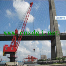 Fixe à Port mer Base chantier grue grue Grues mobiles