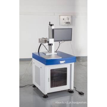 vidro de gravação de máquina de marcação a laser UV de mesa