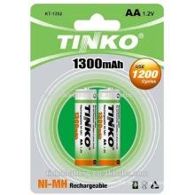 environmentally friendly battery ni-mh AA 1.2v 1300mah Rechargeable batteries