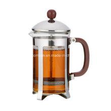Empalme de café de vidrio simple de 350 ml