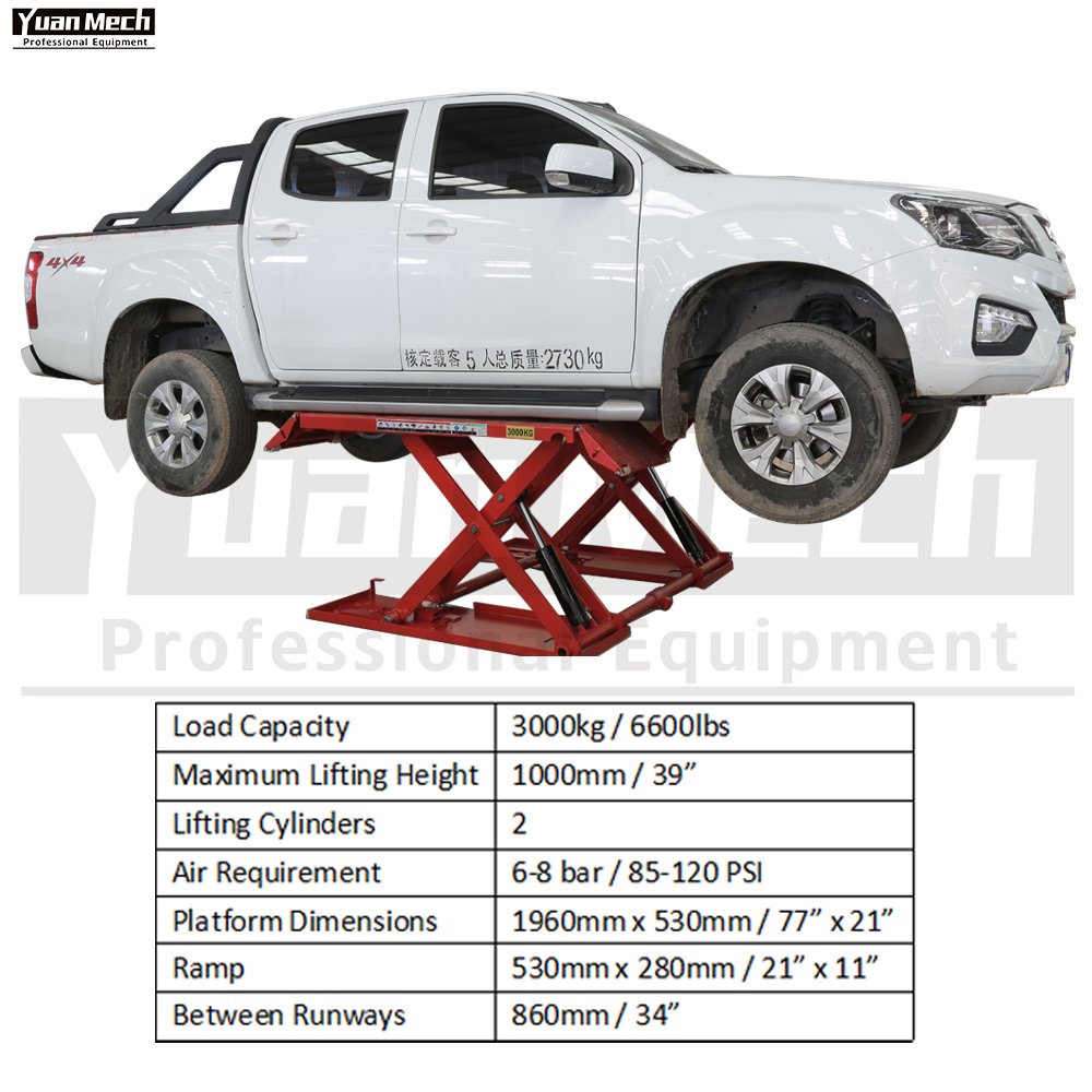 mid rise lift specification