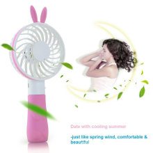 Rabbit Desktop Handheld Mini Fan USB para exteriores