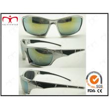Óculos de sol de plástico dos esportes dos homens bonitos e da forma (2870RV)