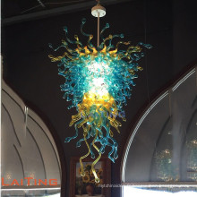 Lustre en verre coloré suspension lampe éclairage