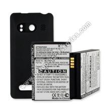 Teléfono celular batería extendida para HTC Evo 4G con tapa trasera