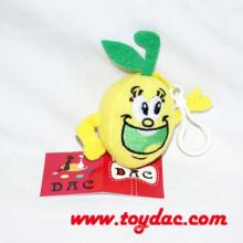 Plush Fruit Lemon Key Ring