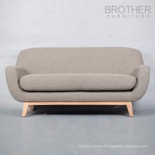 Home furniture modern design living room fabric 2 seater sofa