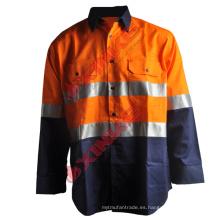 Camisas de trabajo antimosquitos 100% algodón