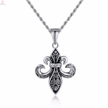 2017 New Arrival Silver 316L Punk For Men Cheap Punk Jewelry