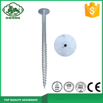 Hot Ground Dipped Screw Untuk Solar PV