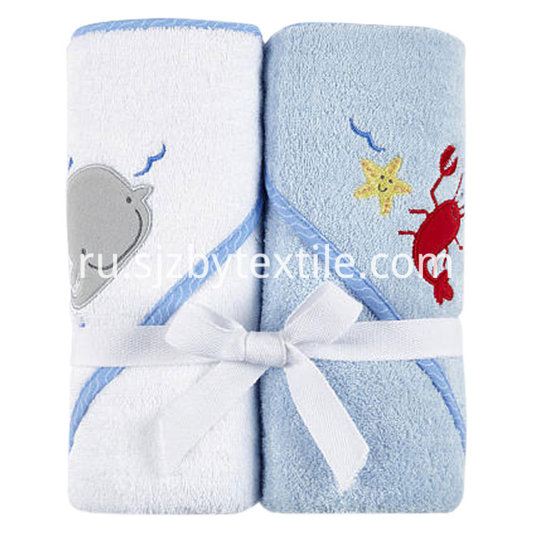 Organic Bamboo Hooded Baby Towel
