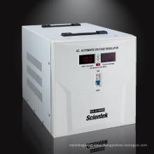 SCIENTEK Servo Motor Type Volt Meter Display 10000va 6000w Voltage Regulator