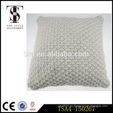 El hilado grueso de la tela de la tela cruzada de la manera caliente de la venta cubre el amortiguador trasero del asiento de las pilas encajonado