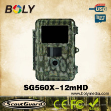 Best selling night vision Black IR infrared 940nm wild trail camera with low glow flash LED light hunting night version