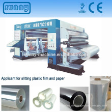 3300mm BOPP PET CPP CPE Papier Jumbo Rollen Slitter Maschine
