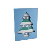 Nuevo marco de madera de la foto del LED para Christams