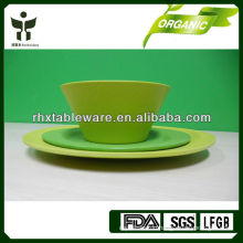 eco friendly plate and bowl