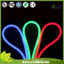 Tubo de néon de corda LED com diferentes tamanhos de tubo