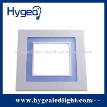 10W hot new product dimmable led panel light with color changing