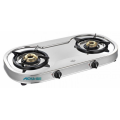 Pencucuhan Auto Spectra 2 Burner SS Gas Stove