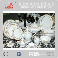 Forma redonda Pakistán India elegante real hueso china china arabia cerámica pote